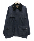 Barbour(バーブァー)の古着「BEDALE ORIGINAL WAXED COTTON」|ネイビー