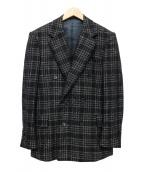 TOMORROW LAND PILGRIM(トゥモローランド ピルグリム)の古着「ウールテーラードジャケット」|ブラック