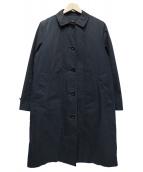MHL(エムエイチエル)の古着「PROOFED COTTON NYLONコート」|ネイビー