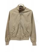 BARACUTA(バラクータ)の古着「ジップジャケット」|ベージュ