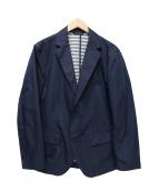 LACOSTE(ラコステ)の古着「テーラードジャケット」 ネイビー