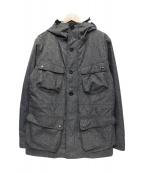 OGAWA CAMPAL(オガワキャンパル)の古着「3WAYマウンテンパーカー」|グレー
