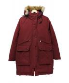 CAPE HEIGHTS(ケープハイツ)の古着「BRIGHTWOOD ArcticParka」|ボルドー