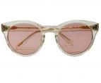 OLIVER PEOPLES×MAISON KITSUNE(オリバーピープルズ×メゾン キツネ)の古着「眼鏡」|ゴールド