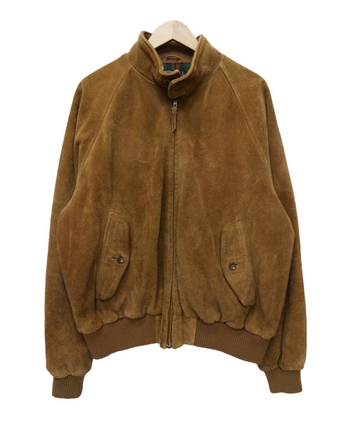 POLO RALPH LAUREN(ポロ・ラルフローレン)POLO RALPH LAUREN (ポロラルフローレン) [古着]スエードスイングトップ ブラウン サイズ:Lの古着・服飾アイテム