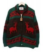 CANADIAN SWEATER(カナディアンセーター)の古着「カウチンセーター」 ブラウン×グリーン
