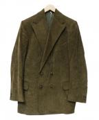 ms braque(エムズ ブラック)の古着「ダブルコーデュロイジャケット」 オリーブ