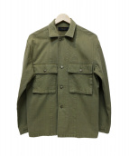 TODAYFUL(トゥデイフル)の古着「ミリタリージャケット」|グリーン