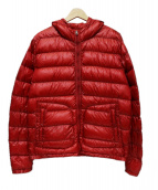 MONCLER(モンクレール)の古着「GUERIN GIUBBOTTO」|レッド
