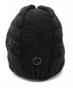 GUCCI(グッチ)の古着「ニット帽」|ブラック