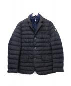 Serge Blanco(セルジュブランコ)の古着「中綿ジャケット」|ブラック×ネイビー