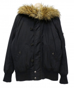 DIESEL(ディーゼル)の古着「N-3Bダウンジャケット」 ブラック