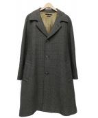 MARC JACOBS(マークジェイコブス)の古着「ベルト付きシングルトレンチコート」|グレー