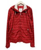 MONCLER(モンクレール)の古着「BRESDINジャケット」|レッド