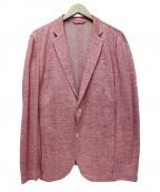 allegri(アレグリ)の古着「テーラードジャケット」|ピンク