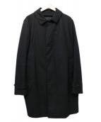 TOMORROW LAND(トゥモローランド)の古着「ステンカラーコート」|ブラック