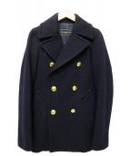 Deuxieme Classe(ドゥーズィエムクラス)の古着「メルトンPコート」|ネイビー