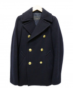 DEUXIEME CLASSE(ドゥーズィエム クラス)の古着「メルトンPコート」|ネイビー