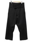 JULIUS(ユリウス)の古着「Divided Cummerband Trousers」 ブラック