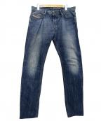 DIESEL(ディーゼル)の古着「TEPPHARウォッシュデニム」 ブルー