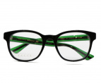 GUCCI(グッチ)の古着「伊達眼鏡」|グリーンンレッド