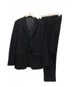 TAKEO KIKUCHI(タケオキクチ)の古着「セットアップスーツ」|ブラック