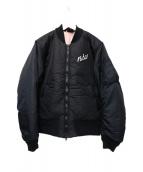 NIKE(ナイキ)の古着「シンセティックブルゾン」|ブラック