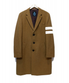 GUILD PRIME(ギルドプライム)の古着「チェスターコート」|ブラウン