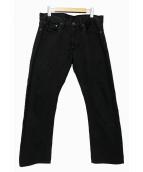 POLO RALPH LAUREN(ポロラルフローレン)の古着「ブラックデニム」|ブラック