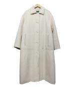 LA MARINE FRANCAISE(マリンフランセーズ)の古着「アルパカシャギープードルファーロングコート」|ベージュ