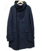 ESEMPLARE(エセンプラーレ)の古着「フーデッドコート」|ネイビー