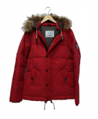 POLEWARDS(ポールワーズ)の古着「MANASLU MOUNTAIN Down Jacket」|レッド