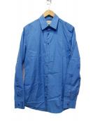GUCCI(グッチ)の古着「ポプリンシャツ」 ブルー