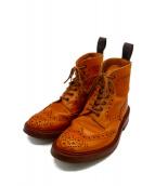 Trickers(トリッカーズ)の古着「カントリーブーツ」|ブラウン