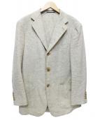 SOVEREIGN(ソブリン)の古着「テーラードジャケット」|ベージュ