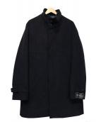 B:MING LIFE STORE by BEAMS(ビーミングライフストアバイビームス)の古着「レイズドカラーコート」|ブラック