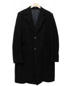 SCYE(サイ)の古着「CHESTER FIELD COAT」 ブラック