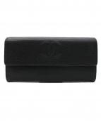 CHANEL(シャネル)の古着「ココマーク長財布」 ブラック
