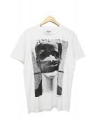 Rags McGREGOR(ラグスマックレガー)の古着「プリントTシャツ」|ホワイト×グレー