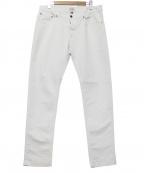 Serge Blanco(セルジュブランコ)の古着「ホワイトジーンズ」|ホワイト
