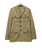 POLO RALPH LAUREN(ポロ・ラルフローレン)の古着「サファリジャケット」|ベージュ