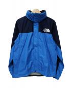 THE NORTH FACE(ザノースフェイス)の古着「ナイロンジャケット」 ブルー