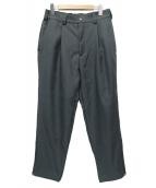 meanswhile(ミーンズワイル)の古着「Dry Cloth Zip Pants」|グリーン
