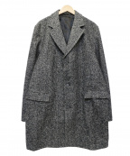 Serge Blanco(セルジュブランコ)の古着「チェスターコート」|グレー