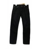 A.P.C.(アーベーセ)の古着「ブラックデニムパンツ」 ブラック