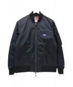 NANGA(ナンガ)の古着「MA-1 AURORA DOWN JK」 ブラック