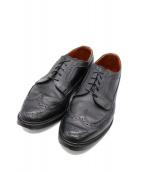 Allen Edmonds(アレンエドモンズ)の古着「メダリオンシューズ」|ブラック