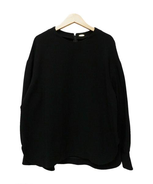 MUSE de Deuxieme Classe(ミューズデドゥーズィエム クラス)MUSE de Deuxieme Classe (ミューズデドゥーズィエム クラス) トリアセジョ-ゼットオーバーブラウス ブラック サイズ:サイズ表記なしの古着・服飾アイテム