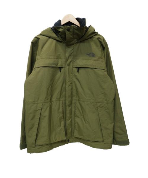 THE NORTH FACE(ザノースフェイス)THE NORTH FACE (ザノースフェイス) Makalu Triclimate Jacket グリーン サイズ:Lの古着・服飾アイテム