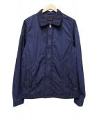 SCOTCH & SODA(スコッチアンドソーダ)の古着「ナイロンジャケット」|ネイビー